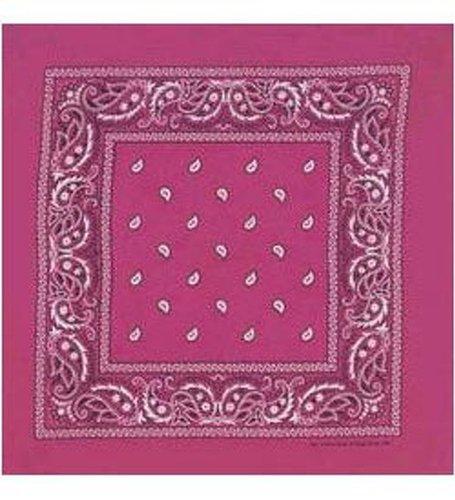 Pink Bandana - Paisley - klassische Paisley Bandana In Fuchsia (Bandana Klassisches)