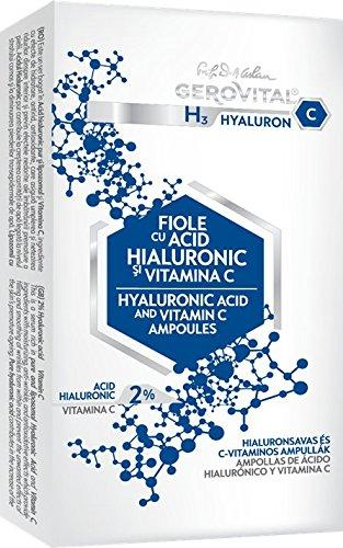 Ampollas con Ácido Hialurónico y Vitamina C
