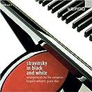 Stravinsky in black and white