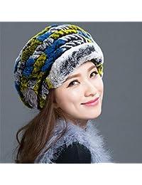 YXLMZ Cadeau d anniversaire Cadeau d anniversaire Femmes Chapeaux Dames  Hiver Chapeaux d  c18d2621884