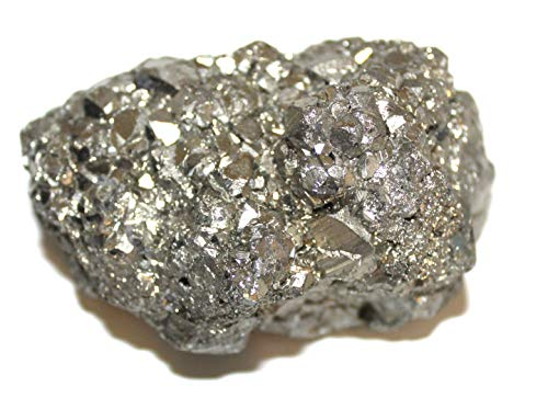 Unbearbeiteter Pyrite Chispas Stein von Peru 5 cm, Der Natürlich ist - Für die Sammler (Kristall-stein-speicher)