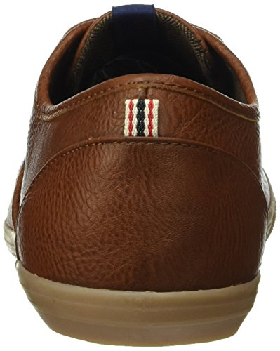 Jack & Jones Jfwspider Pu Sneaker Cognac, Baskets Basses Homme Marron - Marron (Cognac)