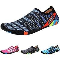 Qimaoo Zapatos de Agua Escarpines Zapatillas Calzado de Playa Descalzo  Barefoot Agua Respirable Calcetines para La 39eb95384b1