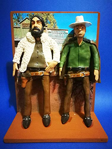 "Action Figure - Actionfigur Bud Spencer und Terence Hill in film""Gott vergibt Django nie!"""