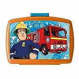 Feuerwehrmann Sam - Brotdose Box Vesper Dose mit Einsatz 16 x 12 x 7cm