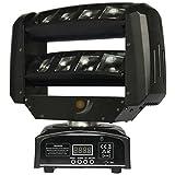 LED Stage Light Beam DJ LED RGBW MOVING HEAD Spot Mini Spider 8x 3W RGBW Beam Licht