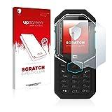upscreen Scratch Shield Schutzfolie kompatibel mit Crosscall Shark X3 – Kristallklar, Kratzschutz, Anti-Fingerprint