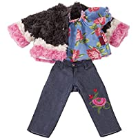 Gotz 3402928 Standing Doll Combo Iconic - Size XL - Dolls Clothing / Accessory Set - Suitable For Standing Dolls Size XL (45 - 50 cm)