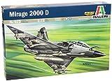Italeri 0023 1:72 Kit de montaje Aeronave de ala fija - Maquetas de aeronaves (1:72, Kit de montaje, Aeronave de ala fija, MIRAGE 2000 D/N, De plástico, Caqui)