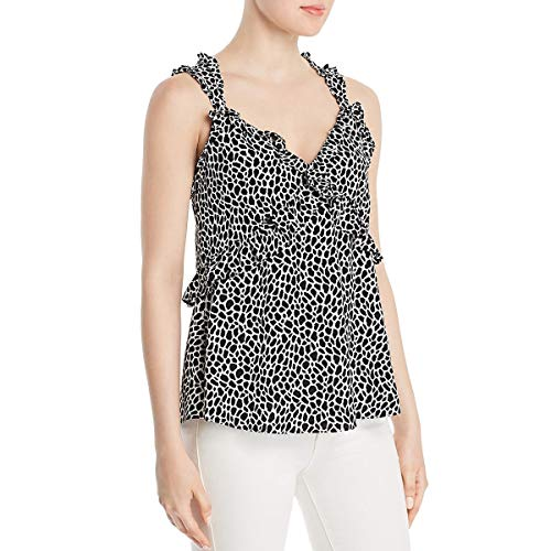 Michael Kors Animal Print (Michael Michael Kors Womens Ruffled Animal Print Camisole Top)