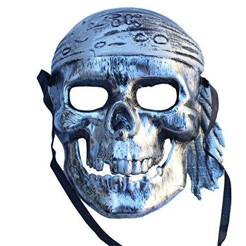 Halloween-Maskerade-Maske/Piraten-Maske/Schädel Horror-Maske-B (Hellboy Hand Kostüme)