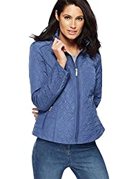 Debenhams The Collection Womens Royal Blue Quilted Jacket