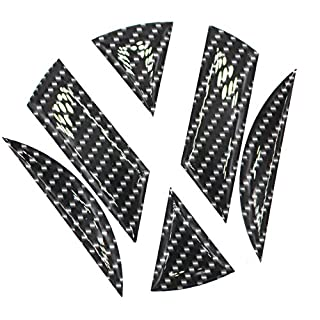 Finest-Folia 3D Emblem Gel Aufkleber hinten (Carbon Schwarz)