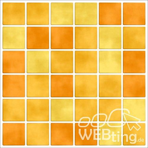 mosaico-giallo-piastrelle-adesivo-piastrelle-immagine-finta-adesivo-bagno-cucina-piastrelle-m1