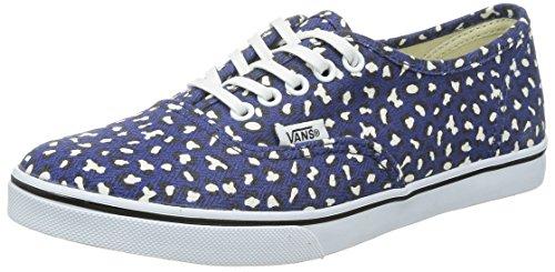 Vans Damen Authentic LO Pro Sneakers Blau
