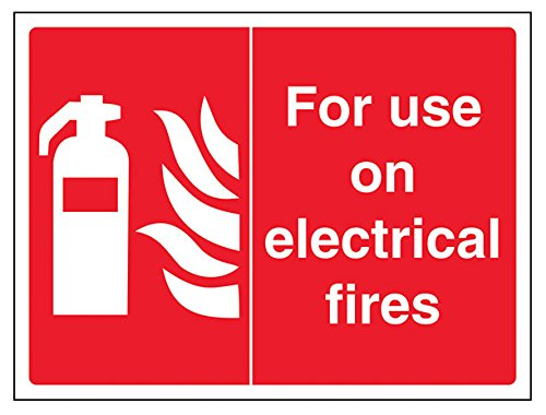vsafety-13043ar-s-fire-equipment-sign-for-use-on-electrical-fires-self-adhesive-landscape-200-mm-x-1