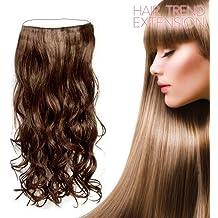 Mamzelle O IG105848 - Extensiones de pelo liso, color rubio oscuro
