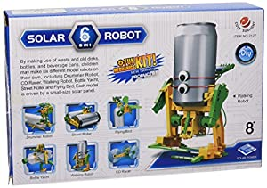 CEBEKIT-C9929 CEBEK Kit Robot del RECICLARO 6X1, Color Amarillo (C9929