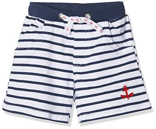 SALT AND PEPPER Baby-Jungen Shorts B Bermuda Pirat Stripe Blau (Classic Blue 486) 68