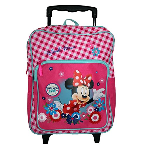 Vadobag Clásico | Mochila para niños Trolley | 35 x 28 x 14 cm | Disney Minnie Mouse