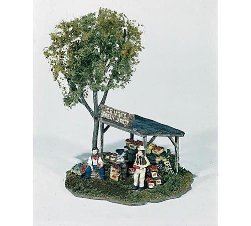 Ernies Fruit Stand Mini Scene Woodland Scenics