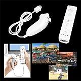 Set Nunchuk con Mando Control Remoto para Nintendo Wii