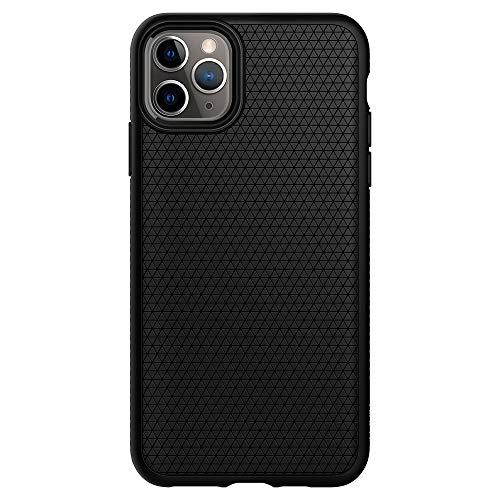 Spigen Funda Liquid Air Compatible con Apple iPhone 11 Pro MAX (6.5') 2019 - Black