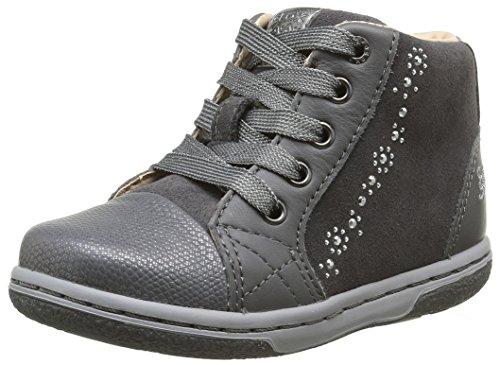 Geox B Flick D, Chaussures Marche Bébé Fille Grau (DK GREYC9002)