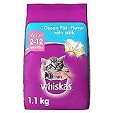 #2: Whiskas Kitten Cat Food Junior Ocean Fish, 1.1 kg Pack