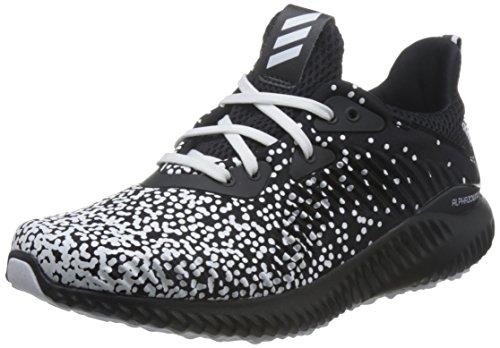 Adidas alphabounce 1 j, scarpe running unisex-bambini, nero ftwwht/cblack, 39 1/3 eu