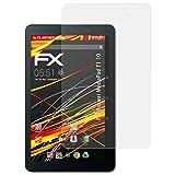 atFolix Folie für Huawei MediaPad T1 10 Displayschutzfolie - 2 x FX-Antireflex-HD hochauflösende entspiegelnde Schutzfolie