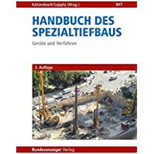 Handbuch des Spezialtiefbaus: Geräte und Verfahren