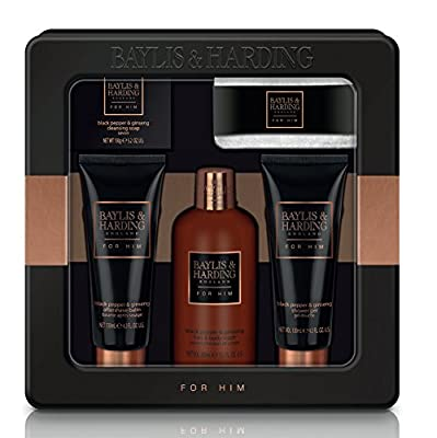 Baylis & Harding Black Pepper & Ginseng Grooming Duo Gift Set