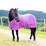 netproshop Hochwertige Fleecedecke Abschwitzdecke für Mini, Shetty, Pony Auswahl, Groesse:115, Farbe:Violett