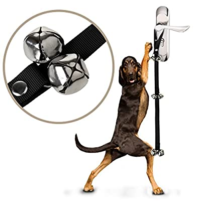 Sicai Dog Doorbell, Dog Door Bells for House Training and Dog Training for Potty Training Your Puppy