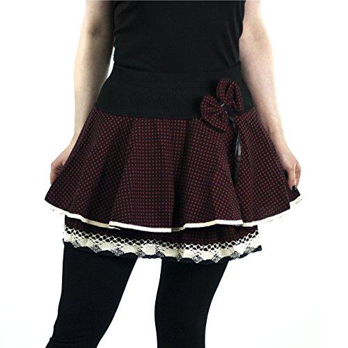 innocent-aya-bow-mini-rock-skirt-gothic-retro-vintage-girlie-schwarz-rot