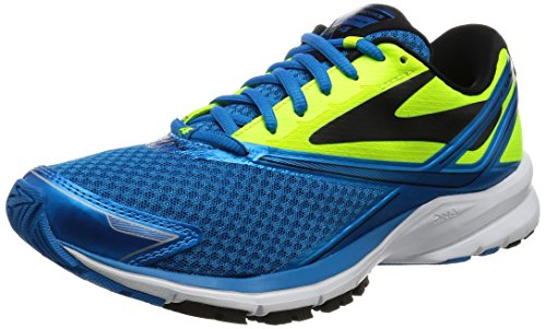 Brooks Launch 4, Zapatos para Correr para Hombre, Multicolor (Methyl Blue/Nightlife/Black), 44 EU