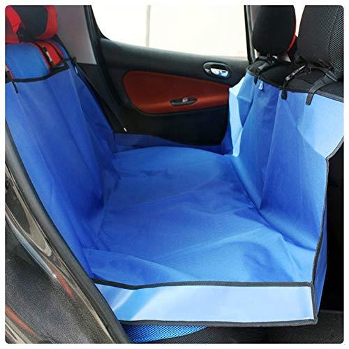Tappetino per auto per animali - Tappetino per auto Sedile posteriore per cani con schienale alto e basso Cuscino in stoffa Oxford Cuscinetto anti-fouling posteriore per sedile posteriore Resistent