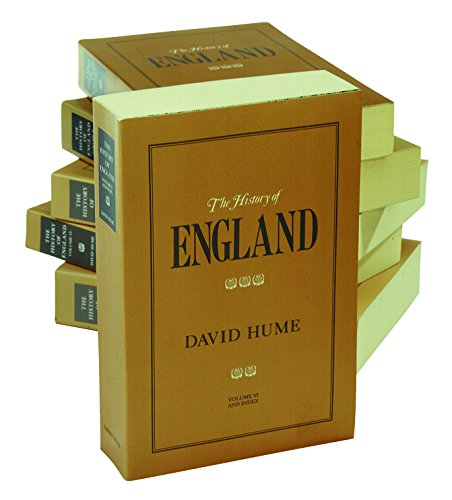 History of England, Volumes 1-6: From the Invasion of Julius Caesar to the Revolution in 1688 por David Hume