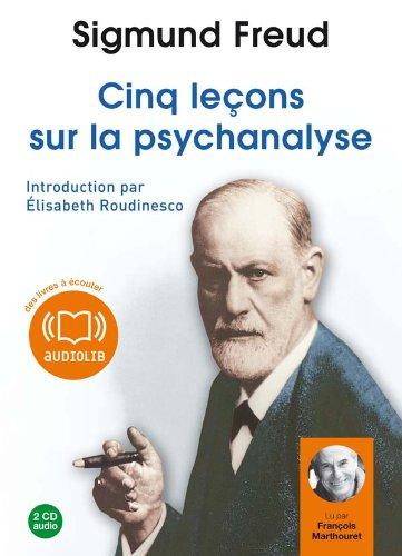 Cinq leçons sur la psychanalyse (cc) - Audio livre 2 CD Audio 1 h 53