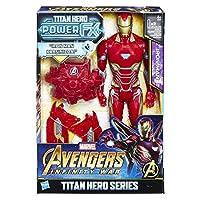 Avengers E0606 Infinity War Titan Hero Power FX Iron Man Figür