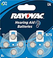 Rayovac Acoustic Special Mercury-Free Hearing Aid Battery