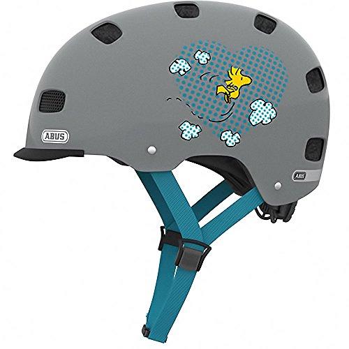 Abus BMX Skate- Fahrradhelm Scraper v.2. Peanuts pop art grey 52-58 cm