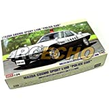 RCECHO® Hasegawa Automotive Model 1/24 Car Mazda Cosmo Sport L10B Police Car 20258 H0258 with RCECHO® Full Version Apps Edition