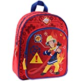 "Disney 900–800931cm ""en caso de emergencia"" bombero Sam Junior mochila con bolsa de frontal"