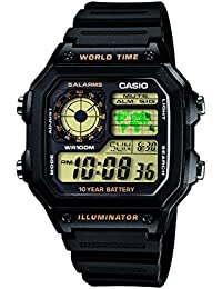 Casio Youth-Digital Black Dial Men's Watch-AE-1200WH-1BVDF (D098)