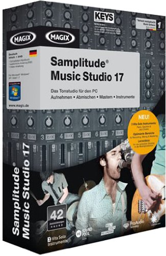 MAGIX Samplitude® Music Studio 17 - Minibox
