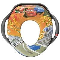 The First Years Y9820 - Disney Cars Soundtoilettentrainer Dieser Toilettensitz ist angenehm Passt auf alle handelsüblichen Toiletten