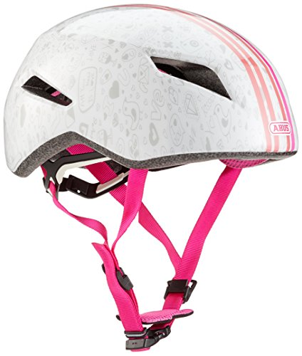 Abus Yadd-I Kid Fahrradhelm, White Crush, M