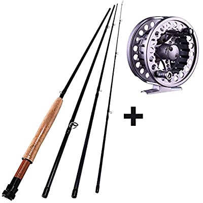 Sougayilang Fly Fishing Rod with Fly Fishing Reel Combos Set from Sougayilang